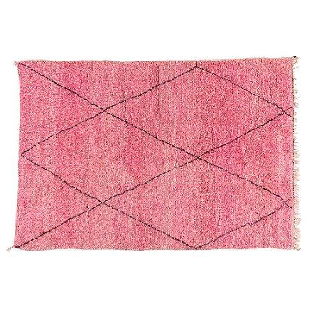 Tapete Marroquino Berber Ourain Pink| 2,05 x 3,0 m