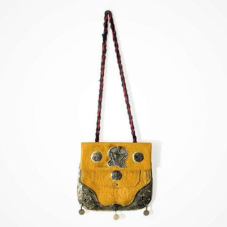 Bolsa Tuareg Yellow Antic  -27x28cm