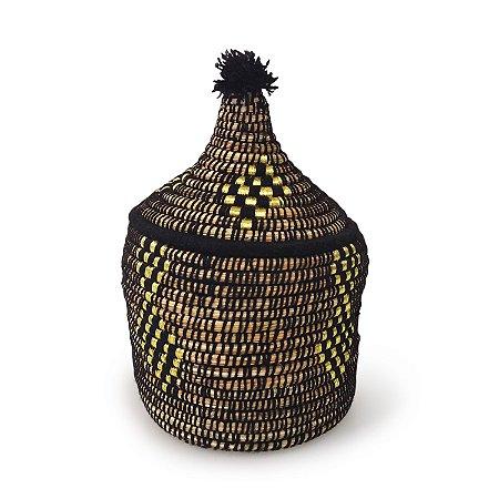 Cesta Safira | Arte Tribo Berber | 33x21 cm