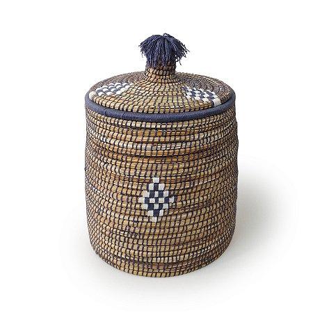 Cesta Munazam | Arte Tribo Berber | 50x34,5 cm