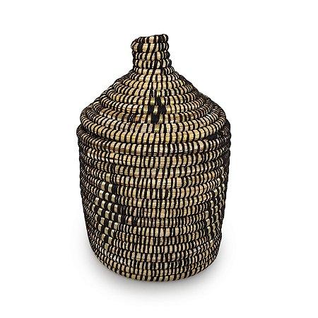 Cesta Ibtihaj | Arte Tribo Berber | 32x22 cm