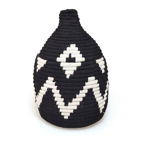 Cesta Nuha   Arte Tribo Berber   24x15 cm