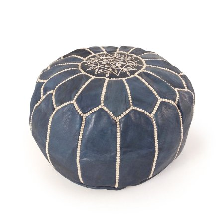 Capa de Pufe Marroquino Mini| Blue