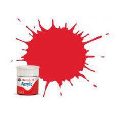Humbrol - Acrylic 019 - Bright Red - Metallic
