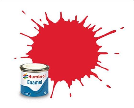 Humbrol - Enamel 019 - Bright Red - Gloss