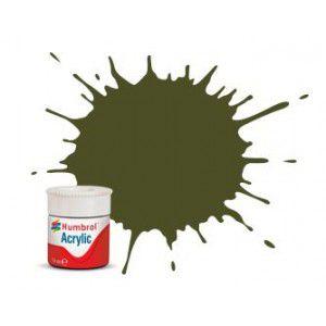 Humbrol - Acrylic 155 - Olive Drab - Matt