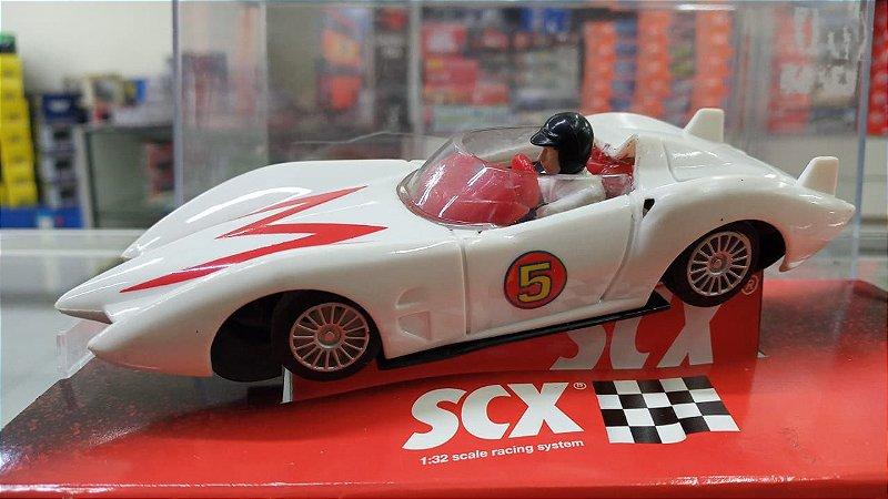 SCX - Slot Car Speed Racer's Mach 5 (Sucata)