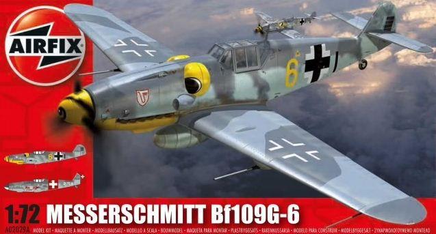 AirFix - Messerschmitt Bf109G-6 - 1/72