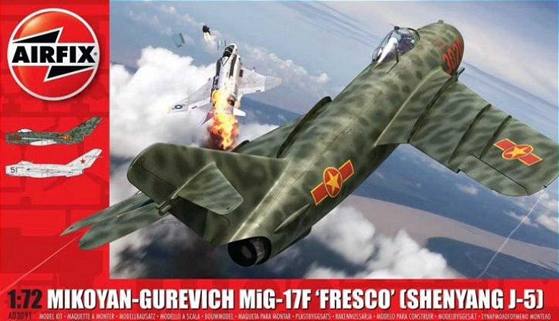 "AirFix - Mikoyan-Gurevich MiG-17 ""Fresco"" (Shenyang J-5) - 1/72"