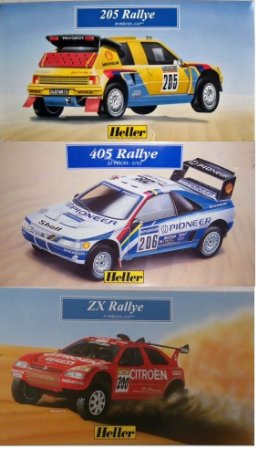 Heller - Rallye Series - 1/43