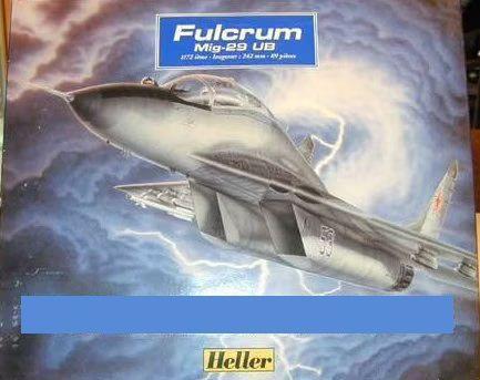 """Heller - MiG-29 UB """"Fulcrum"""" - 1/72 (Sucata)"""