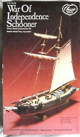 Lindberg - War of Independence Schooner - 1/79 (Sucata)
