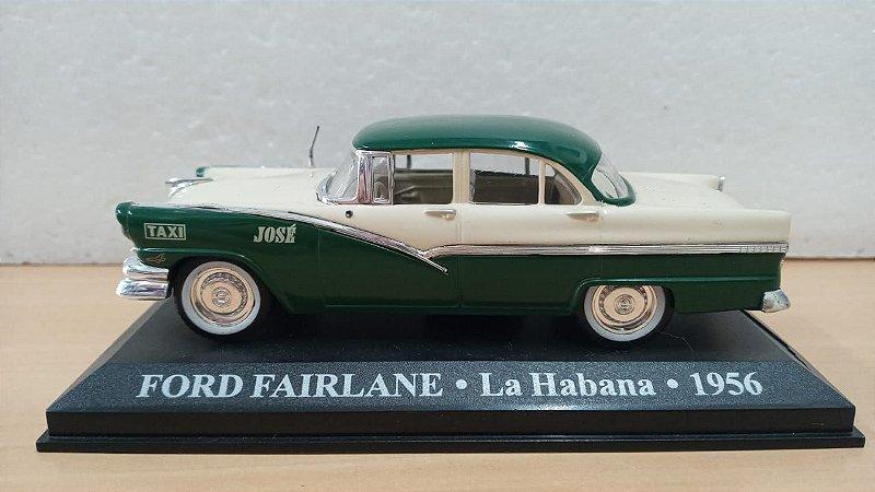 Ixo - Taxi Ford Fairlane de Havana. Cuba 1956 - 1/43 (Sucata)
