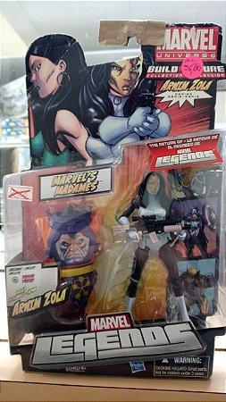 Hasbro - Madame Marvel - Arnim Zola Collection (Sucata)