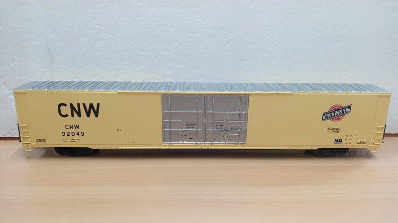 """Athearn - Vagão CNW92049 """"North Western Hydraulic Cushion"""" - HO"""