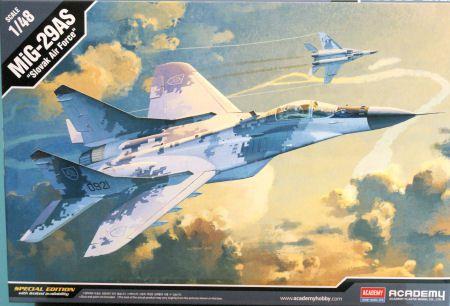 """Academy - MiG-29 AS """"Slovak Air Force"""" - 1/48"""