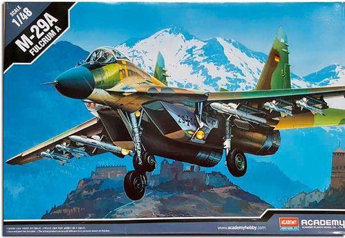 Academy - MiG-29A Fulcrum A - 1/48