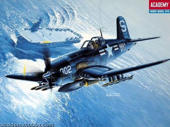 Academy - F4U-4B Corsair - 1/48