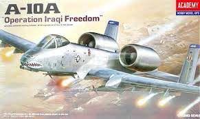 "Academy - A-10A Thunderbolt II ""Operation Iraqi Freedom"" - 1/72"