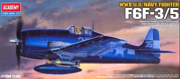 Academy - F6F-3/5 Hellcat - 1/72