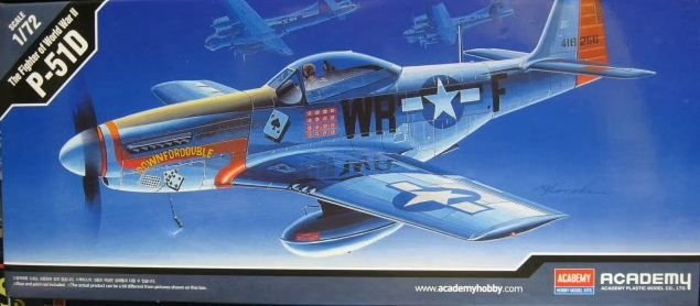 Academy - P-51D Mustang - 1/72