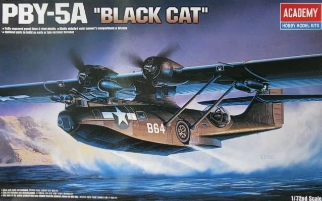"Academy - PBY-5A Catalina ""Black Cat"" - 1/72"