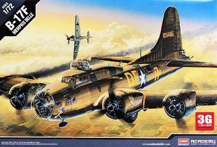 """Academy - B-17F """"Memphis Belle"""" - 1/72"""