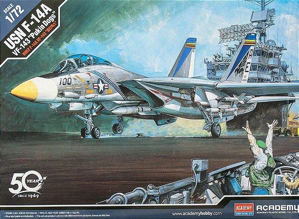 "Academy - USN F-14A VF-143 ""Pukin Dogs"" - 1/72"