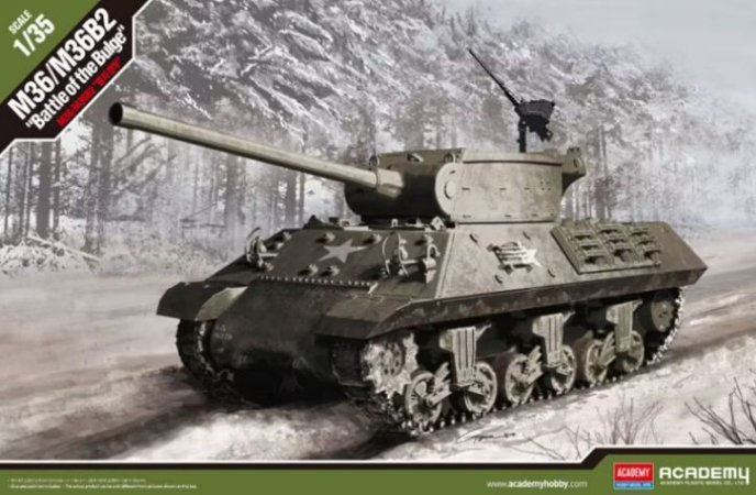 "Academy - M36/M36B2 ""Battle of Bulge"" - 1/35"