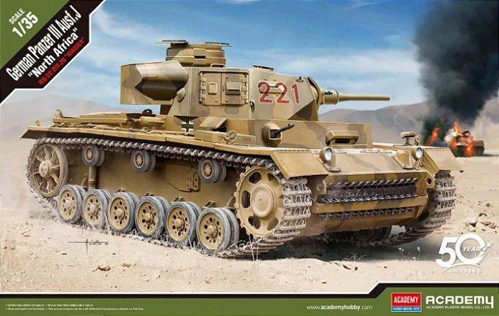 "Academy - German Panzer III Ausf. J ""North Africa"" - 1/35"