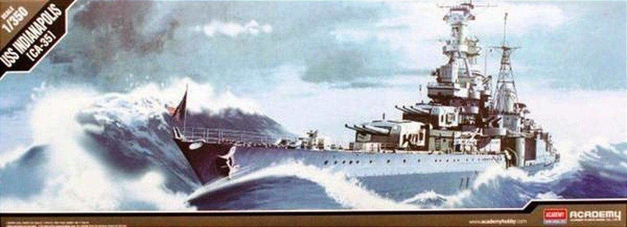 Academy - USS Indianapolis CA-35 - 1/350