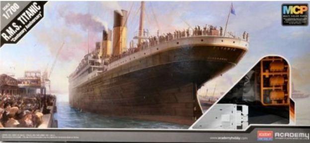 "Academy - R.M.S. Titanic ""Centenary Anniversary"" (MCP Version) - 1/700"