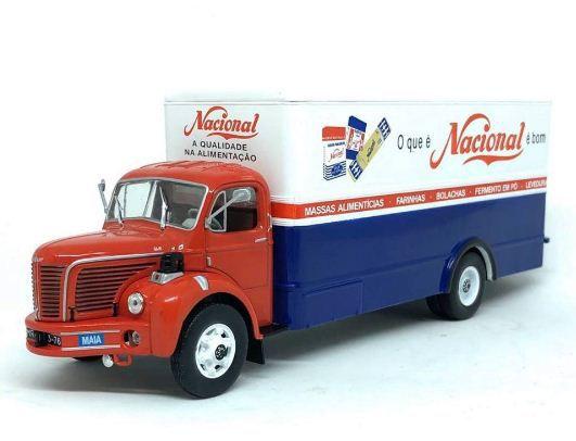 Ixo - Caminhão Berliet GLR 1951-1956 - Nacional Alimentícios - 1/43