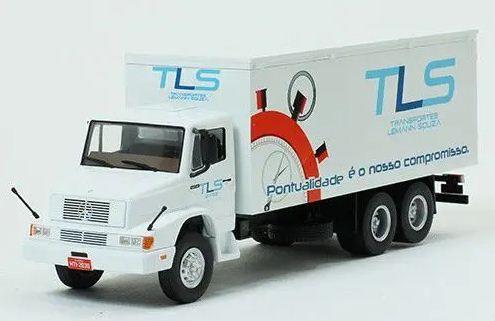 Ixo - Caminhão Mercedes-Benz L1618 1996-2011 - Transportes Lemann Souza - 1/43