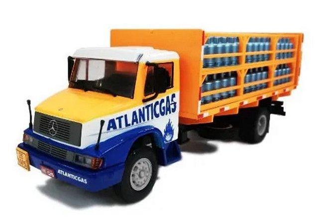 Ixo - Caminhão Mercedes-Benz 1614 - Atlantic Gas - 1/43