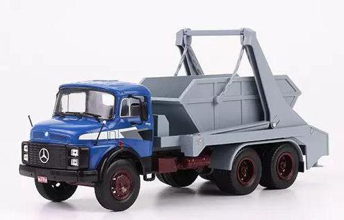 Ixo - Caminhão Mercedes-Benz L2213 (1971-1987) - Caçamba - 1/43