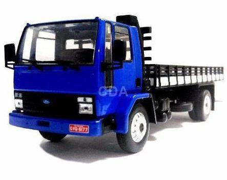 Ixo - Caminhão Ford Cargo 1415 (1987-1995) - Carga - 1/43