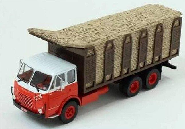 Ixo - Caminhão FNM Fiat 180/210 (1972/1979) - Canavieiro - 1/43