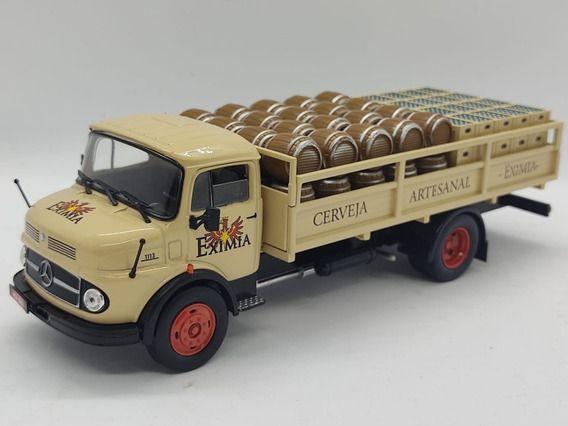Ixo - Caminhão Mercedes-Benz 1113 - Cerveja Artesanal Eximia - 1/43