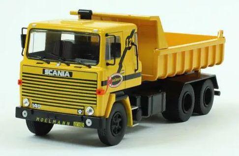 Ixo - Caminhão Scania LKS 140 - Terraplanagem Moelmann - 1/43