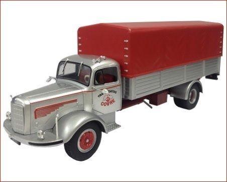 Ixo - Caminhão Mercedes-Benz L325 (1957-1963) - Transportes Covre - 1/43