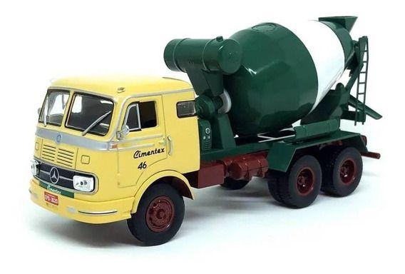 Ixo - Caminhão Mercedes-Benz L1520 (1968-1971) - Cimentex - 1/43