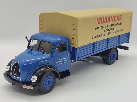 Ixo - Caminhão Magirus Merkur (1951-1975) - Mudanças em Curitiba e Região - 1/43