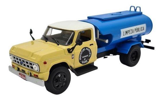 Ixo - Caminhão Chevrolet D-60 - Limpeza Pública de Salvador, Bahia - 1/43
