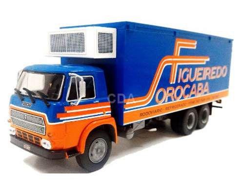 Ixo - Caminhão Fiat 140 - Transportes Refrigerados Figueredo Sorocaba - 1/43