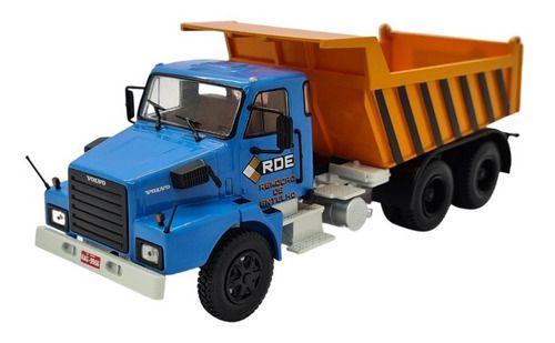 Ixo - Caminhão Volvo N10 Basculante - RDE Remoção de Entulho - 1/43