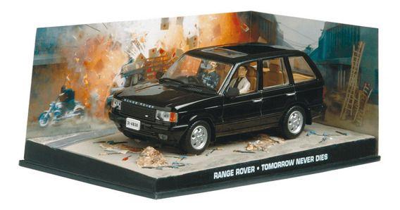 Coleção James Bond 007 Eaglemoss - Range Rover - 007: O Amanhã Nunca Morre - 1/43