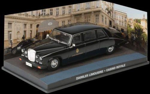 Coleção James Bond 007 Eaglemoss - Daimler Limousine - 007: Cassino Royale - 1/43