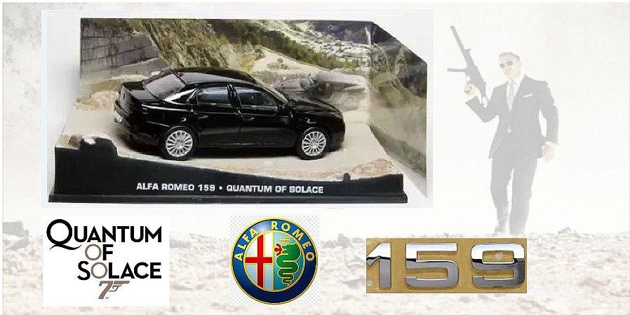 Coleção James Bond 007 Eaglemoss - Alfa Romeo 159 - 007: Quantum of Solace - 1/43