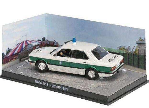 Coleção James Bond 007 Eaglemoss - BMW 518 - 007 contra Octopussy - 1/43